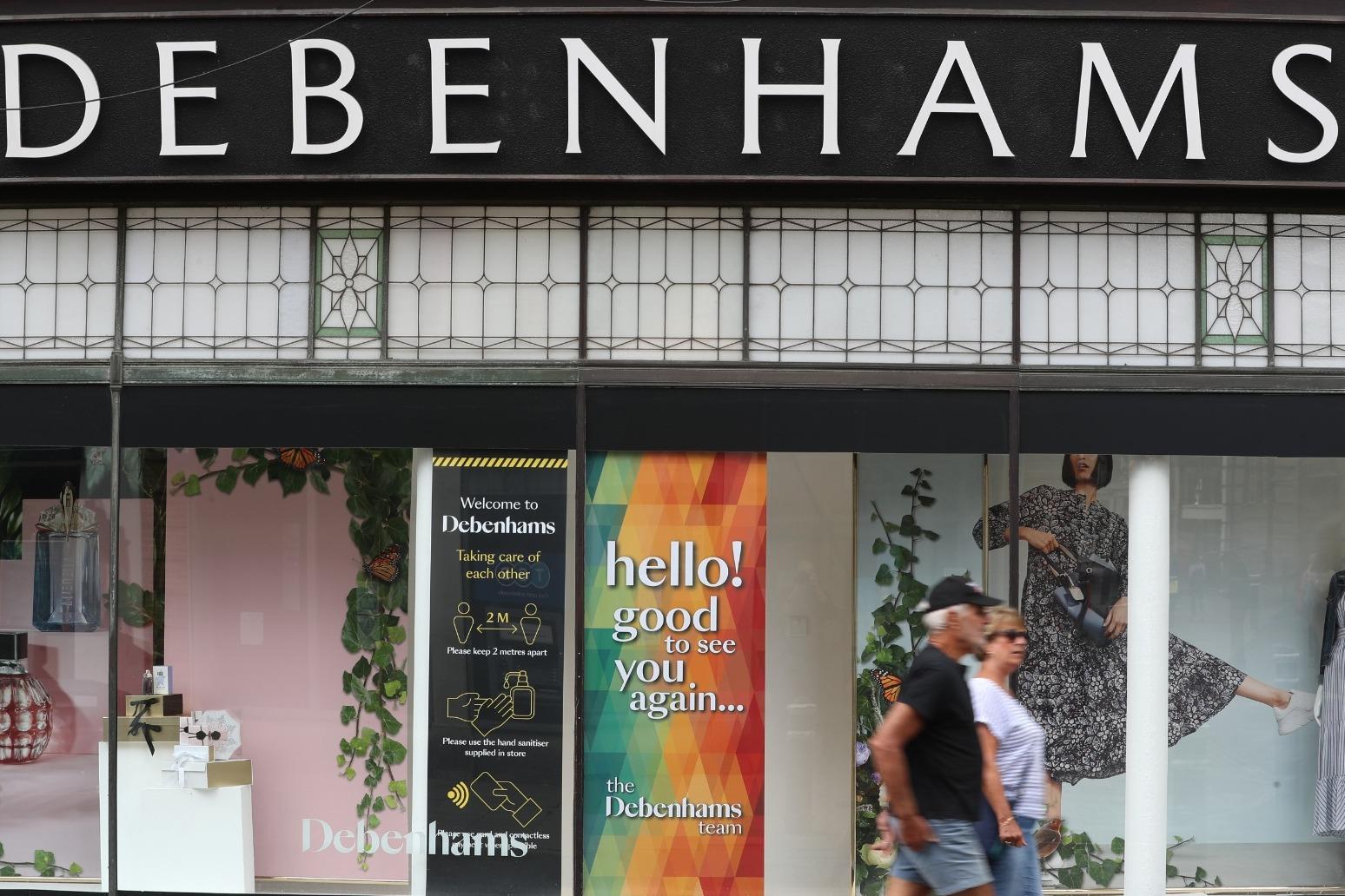 Debenhams to axe 2,500 jobs