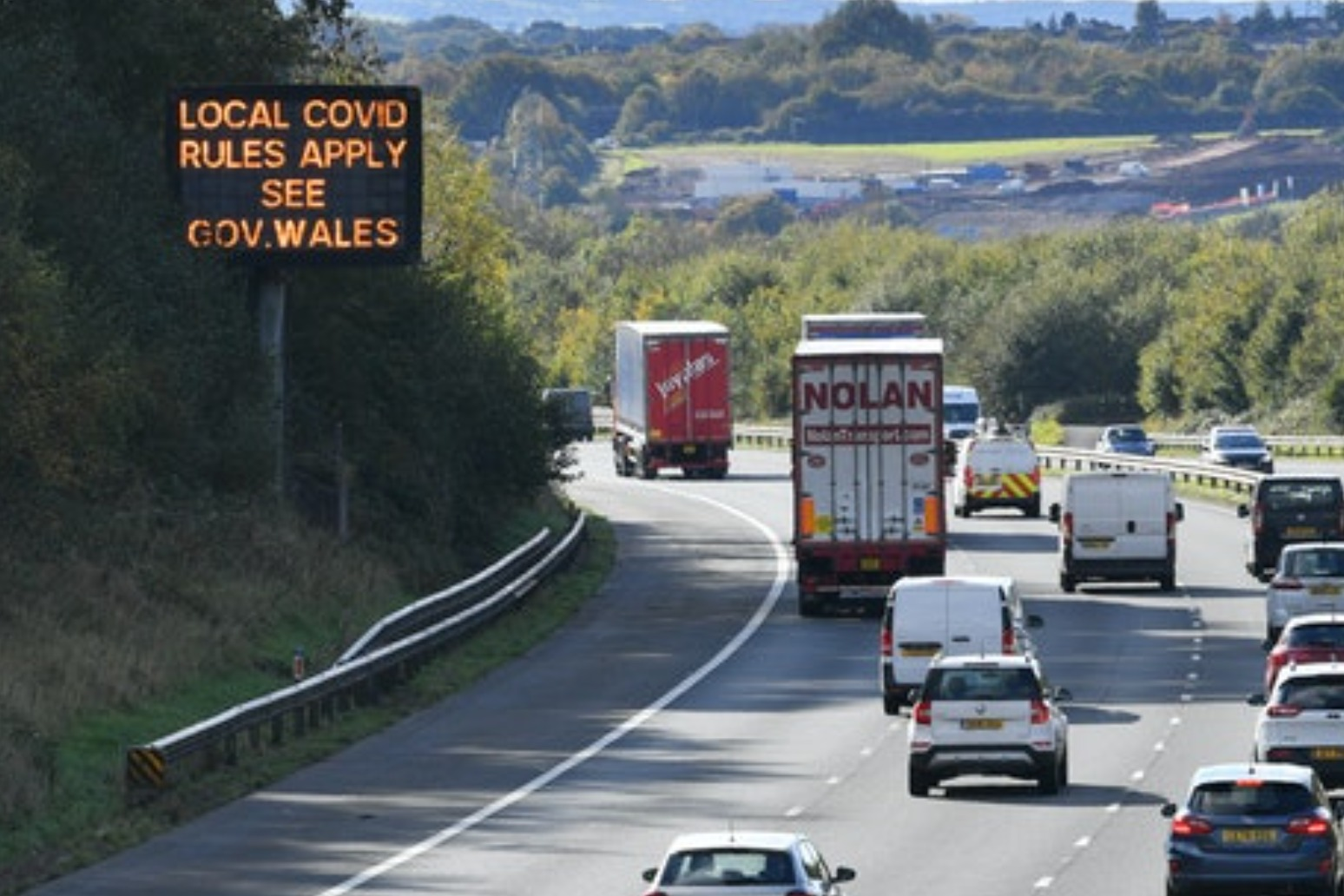 Wales prepares to enter two-week 'firebreak' lockdown