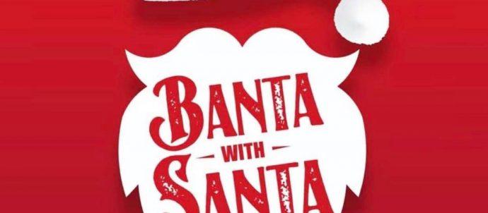 Banta with Santa